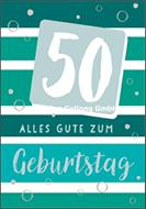 50 - Alles Gute zum Geburtstag