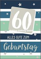 60 - Alles Gute zum Geburtstag