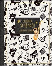 Schöner Schenken - Geschenkpapierbuch Musik