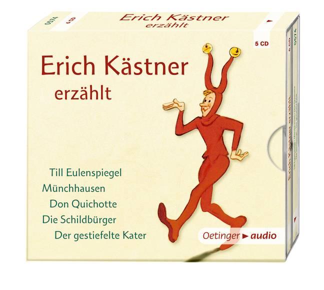 Erich Kästner erzählt (5 CD)