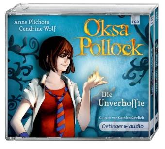 Oksa Pollock. Die Unverhoffte (6 CD)