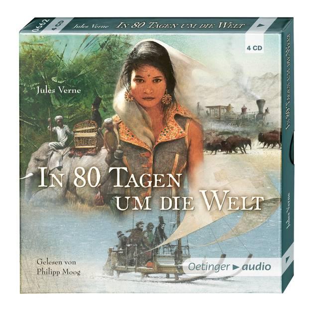 In 80 Tagen um die Welt (4 CD)