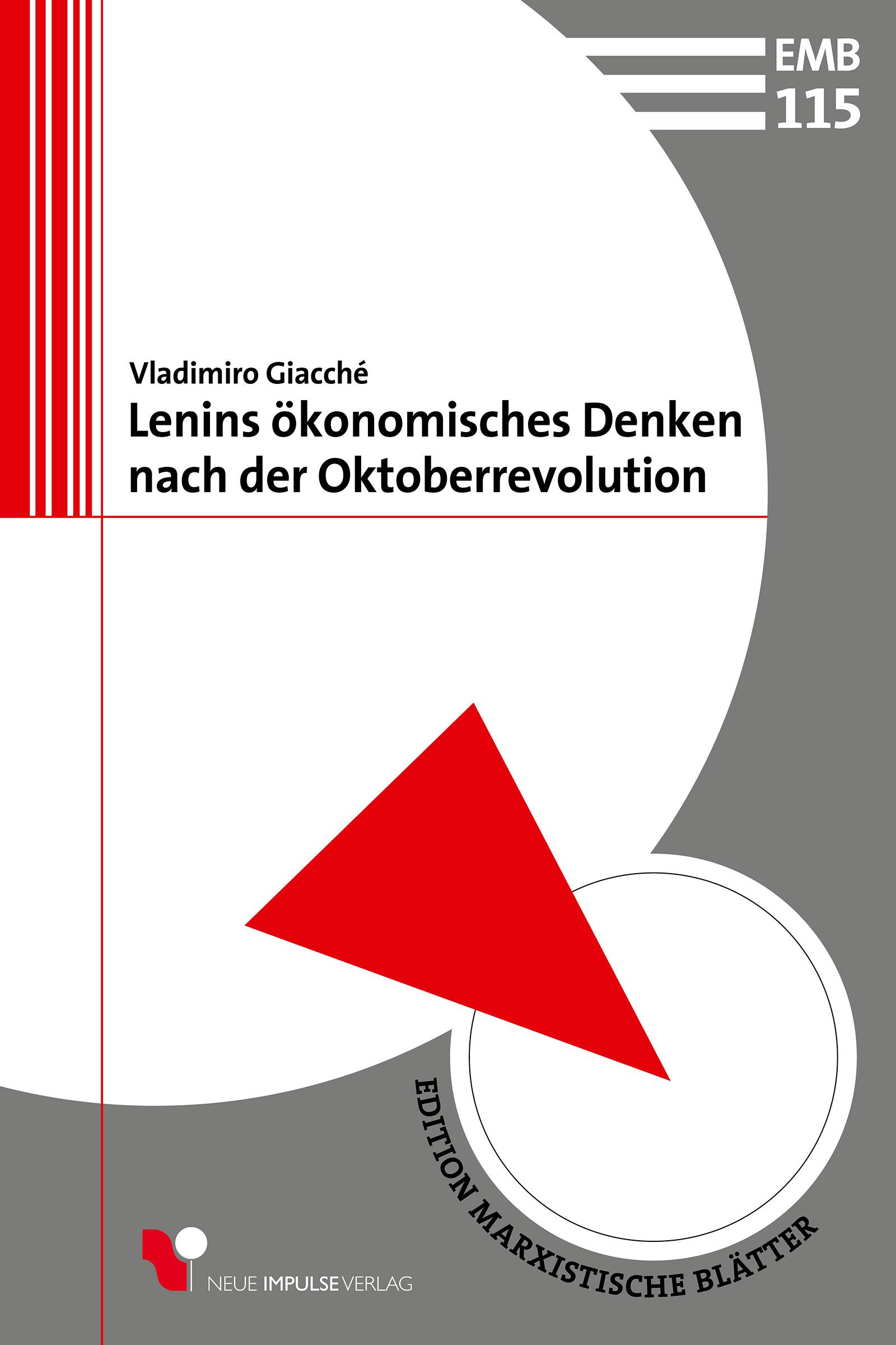 Lenins ökonomisches Denken nach der Oktoberrevolution
