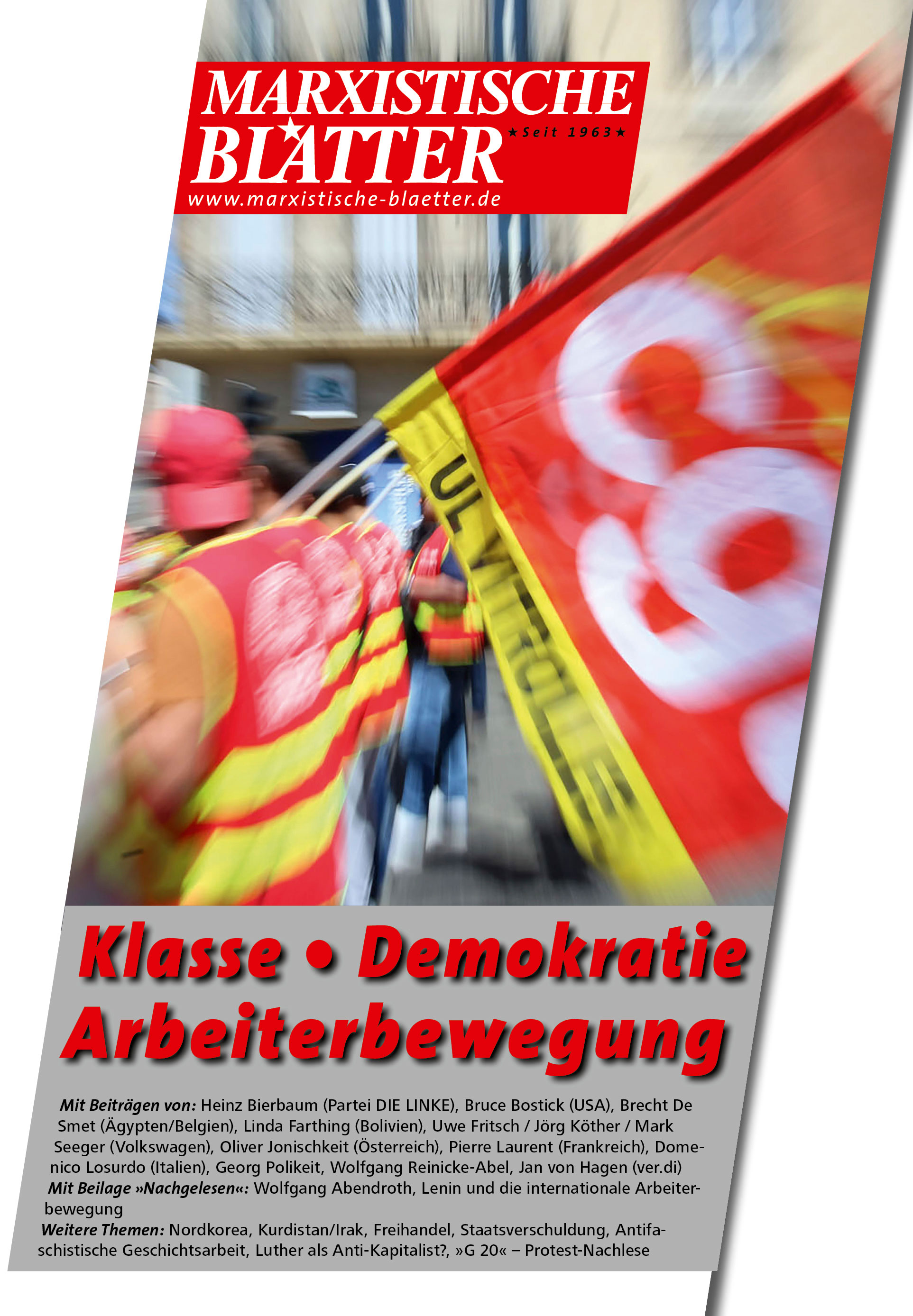 Klasse - Demokratie - Arbeiterbewegung