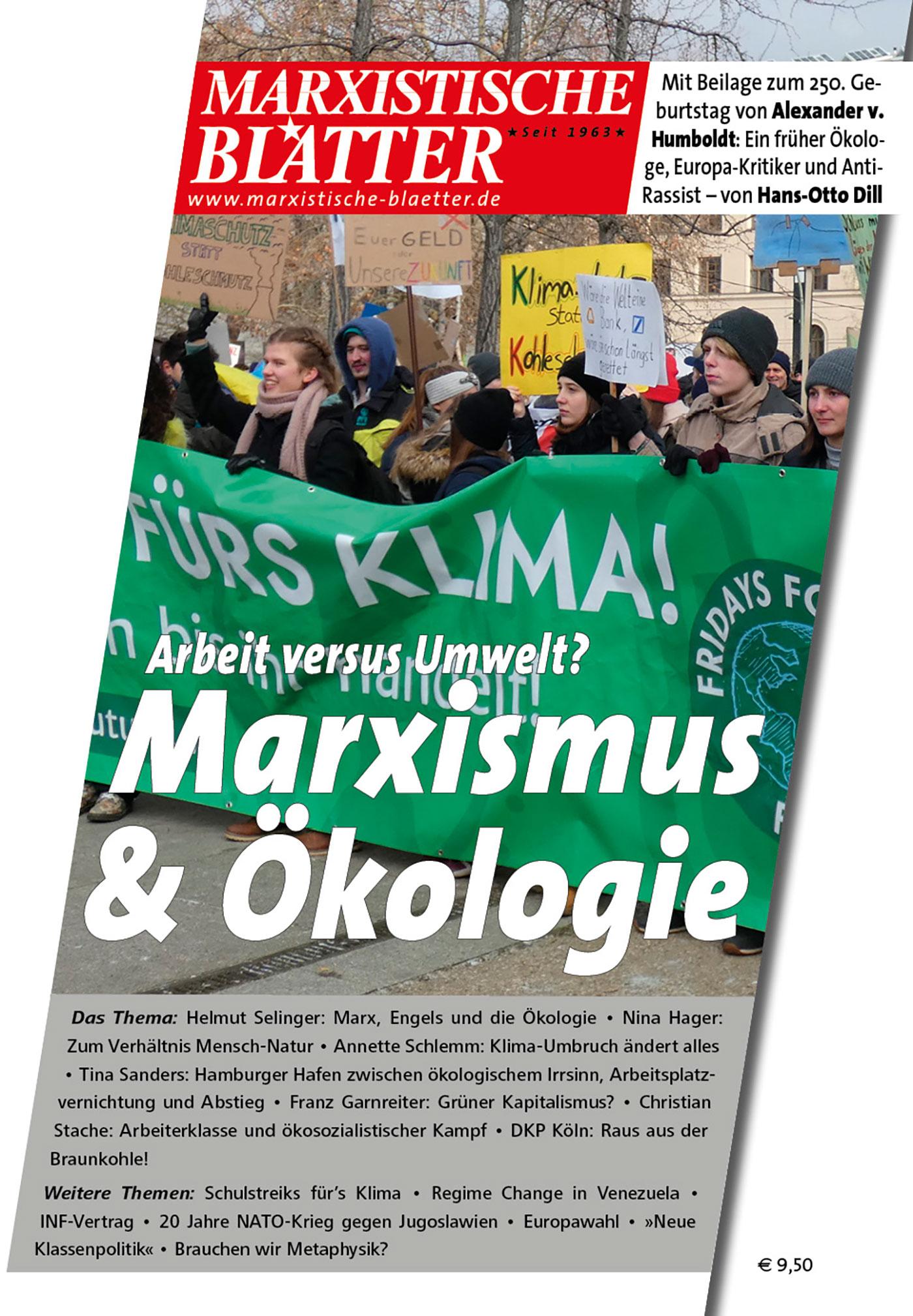 Marxismus & Ökologie