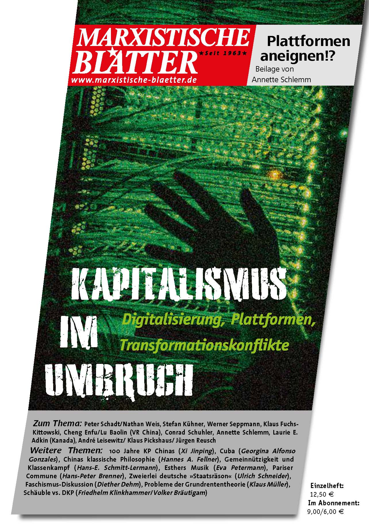 Kapitalismus im Umbruch