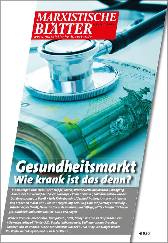 Gesundheitsmarkt - Wie krank ist das denn? - Cover