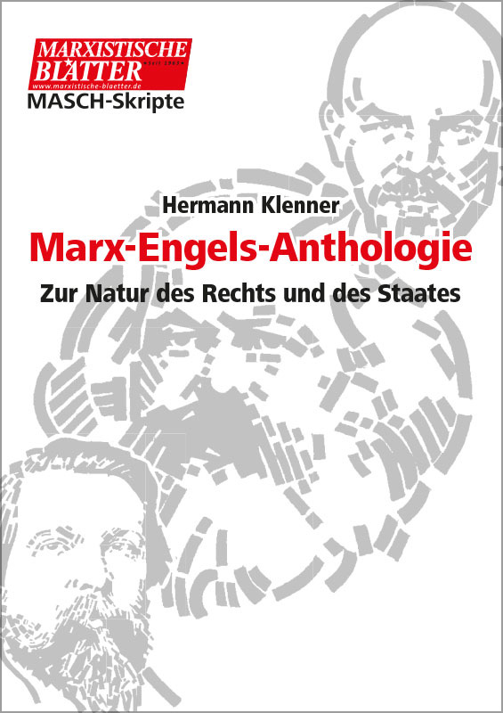 Marx-Engels-Anthologie - Cover