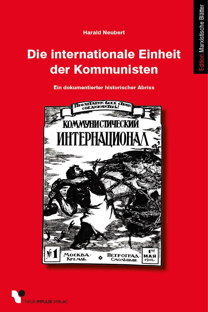 Die internationale Einheit der Kommunisten - Cover