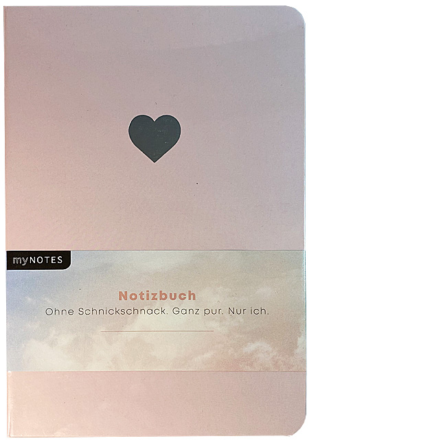 Notizbuch A5 Momentesammler - Herz
