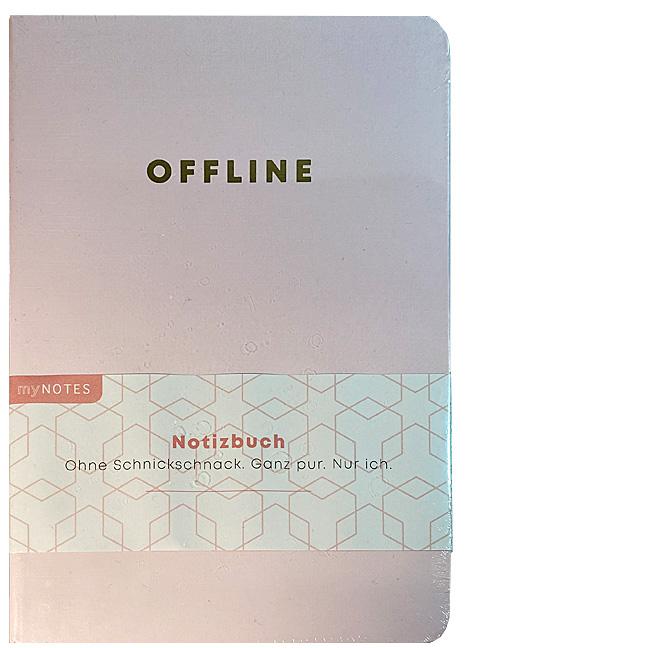 Notizbuch A5 Momentesammler - Offline