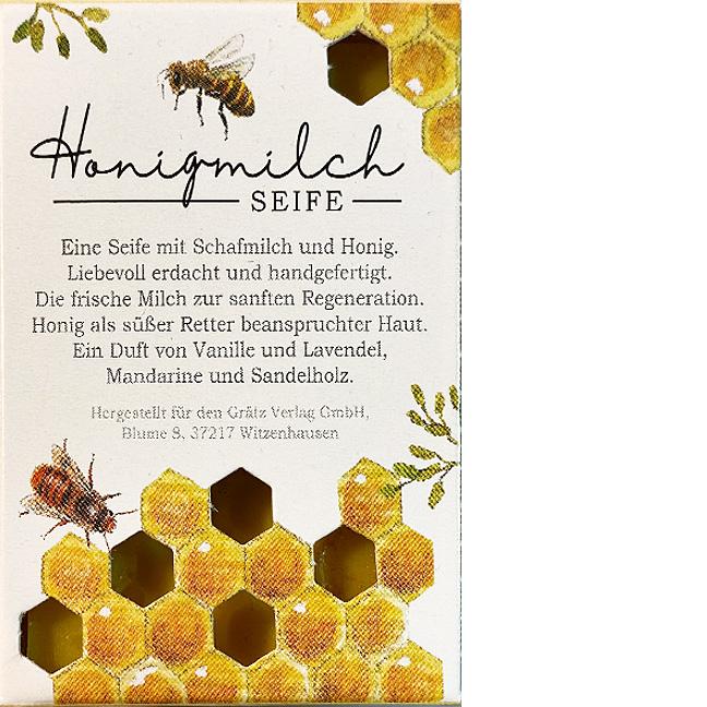 Honigmilch Seife