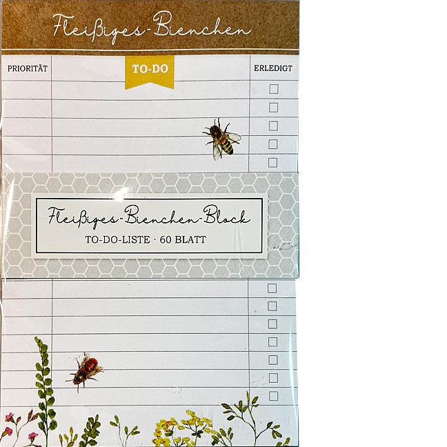 Notizblock A6 Bienen